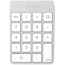 Satechi Slim Teclado Numérico Inalámbrico Bluetooth Recargable de Aluminio (Plata)