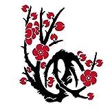 3D DIY WandtattooTasse Spruch Flur Wohnzimmer Aufkleber Selbstklebend Wandaufkleber Wandsticker Wandtatoos Klebende Fliese Kunst metope Wandaufkleber Dekoration for Küche Badezimmer