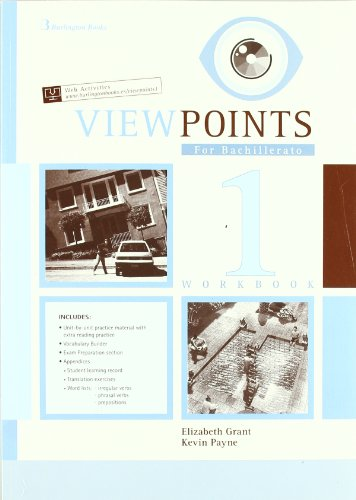 Viewpoints For Bachillerato 1. Workbook - 9789963479641