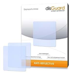 Disguard - RX063065 Anti-Reflective Film Protecteur d'Écran 2 X pour Tomtom - Nike+ Sportwatch GPS - Qualité Supérieure (Revêtement Dur Adhésif, Antiréflexion, Montage Sans Bulles) (Produit Import)