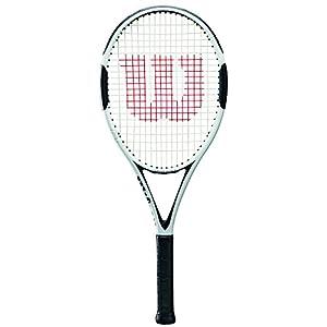 Wilson Damen/Herren-Tennisschläger, Alle Spieler, H6, Grafit, weiß/schwarz