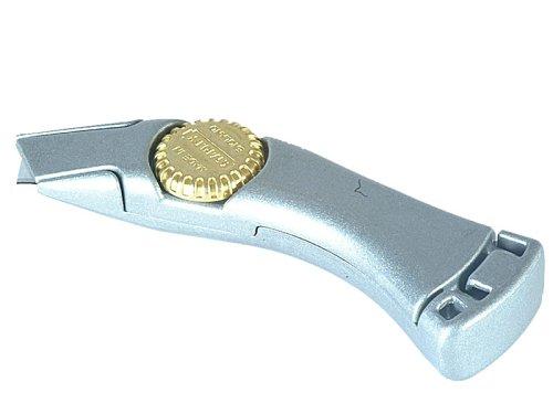 Stanley Messer Titan (feststehende Klinge, robustes Zinkdruckgehäuse, Ergonomisch, InterLock, Displaykarte) 1-10-550