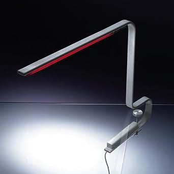 Artemide One Line Morsetto, aluminium aluminium avec pince pour table