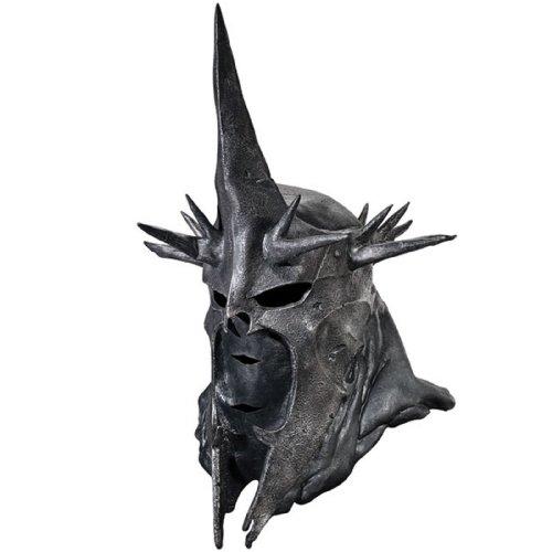 Rubbies France Vollmaske Hexenkönig von Angmar Herr der Ringe Lizenzmaske schwarz Einheitsgröße (Frodo Kostüm)