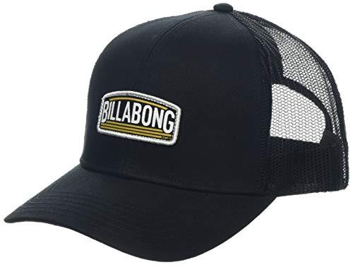 BILLABONG Herren Schirmmütze Flag Trucker, Black, One Size, N5CT52 BIP9 19 Billabong Black Hat