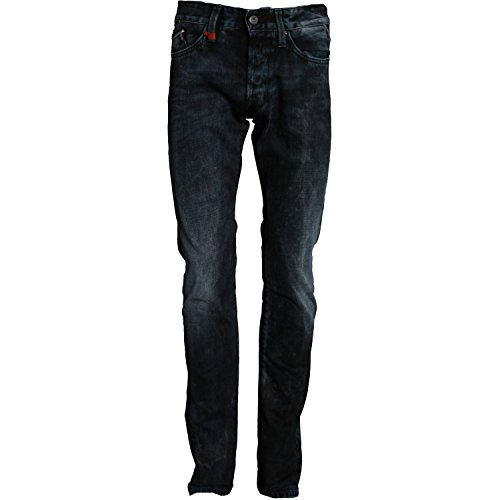 Replay Herren Jeans WAITOM M983 Regular Slim Fit Denim Blau