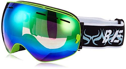 OUTERDO Beschlag, UV-Schutz, Anti-Fog verspiegelt Skibrille Snowboardbrille für Damen Herren