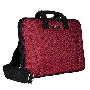 Pacific Design Kern PC Portfolio PD0677geformt Notebook Fall w/Schultergurt–passt für bis zu 39,1cm (rot)