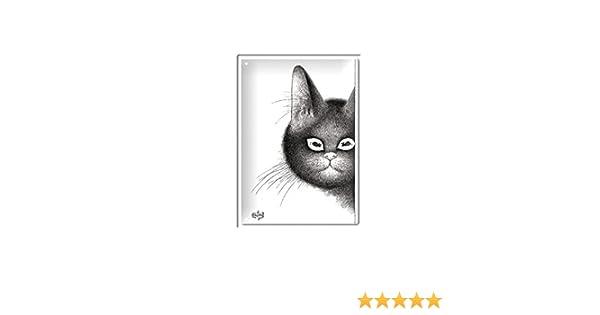Editions Clouet 29192 Tableau dAffichage Dubout Famille Nombreuse M/étal 15 x 21 cm