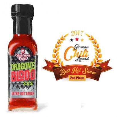 Chilli Pepper Pete's Drachenblut XXX Ultra-Hot Sauce – 100ml