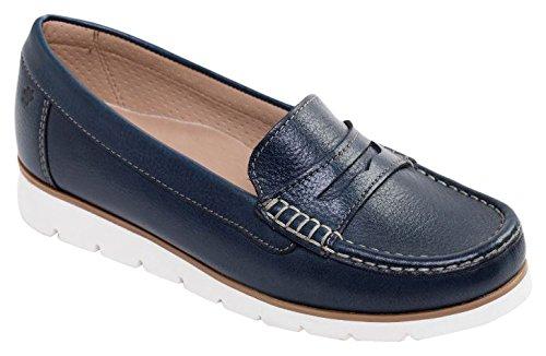 Bleu Sandra femme basses Marine Chaussures Padders qIHp4wOq