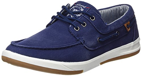 XTI Herren 48023 Bootschuhe Blau (Navy)