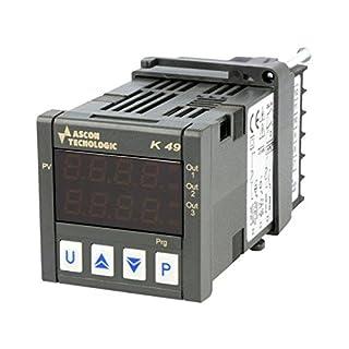 K49P-HCRR Module controller Controlled parameter temperature ASCON TECNOLOGIC
