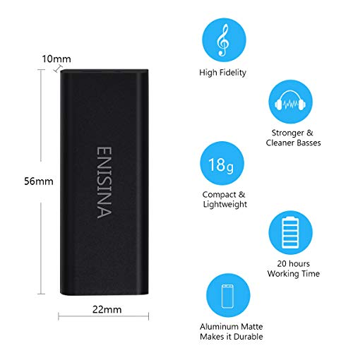 Enisina tragbar Kopfhörerverstärker AP01 leicht und elegant