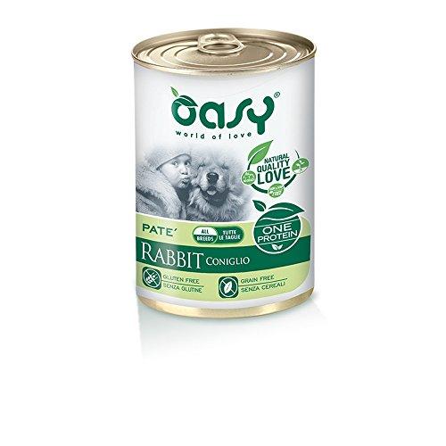 OASY One protein umido cane al coniglio 400gr