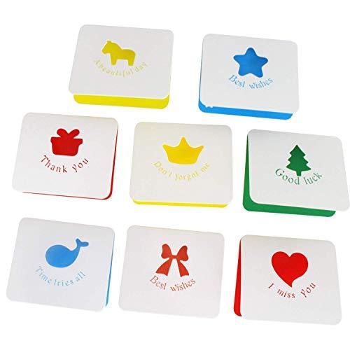 KFYOUXIN Gefaltete Grußkarten Karten Drucken Muttertag Spezielle Handgemachte Für Kinder Baby Blumenartpostkarte Kirschblüten-Karte Grußkarte Karten Pop Up (Zeichen Der Ein Wertschätzung)