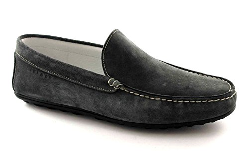 IGI & CO 56971 chaussures gris daim mocassins hommes tubulaire Grigio