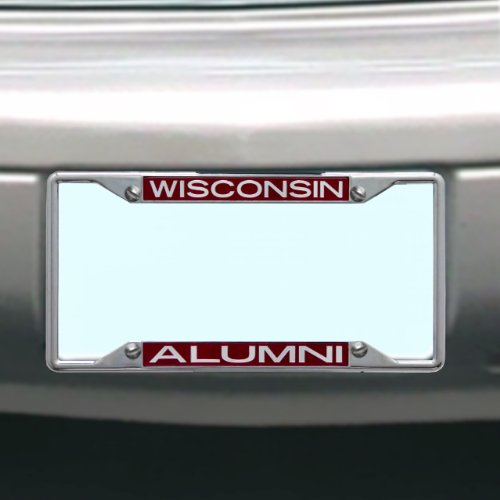 Stockdale NCAA Wisconsin Badgers Nummernschild Rahmen Alumni Wisconsin Badgers-laser
