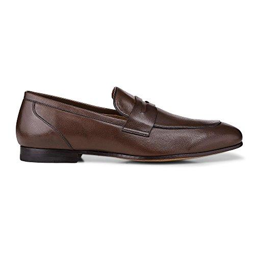 Ludwig Görtz Herren Business-Loafer braun-dunkel