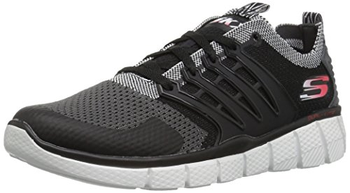 Skechers Boys' Equalizer 2.0-Turbopulse Trainers, Black (Black/Grey), 5 UK 38 EU