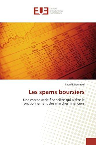 Les spams boursiers
