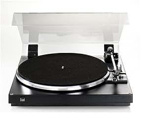 Dual CS 420 Midi Format Platine tourne disque Noir