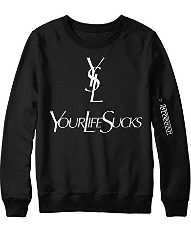 sweatshirt-yls-your-life-sucks-h989922-schwarz-m