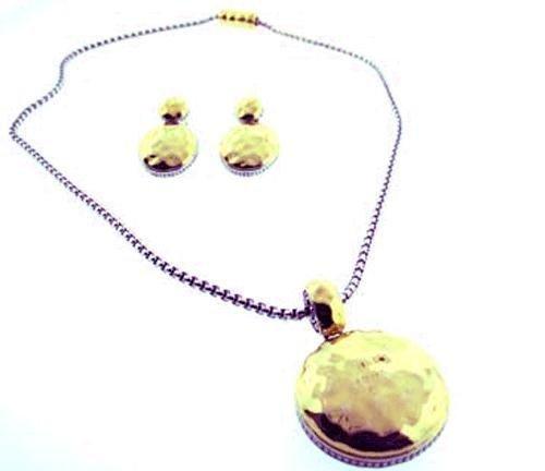 world-collana-da-donna-in-argento-con-catena-in-oro-e-martellato-tonalita-jewelry-set