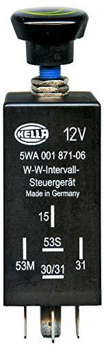 HELLA 5WA 001 871-061 Regler, Wisch-Wasch-Intervall