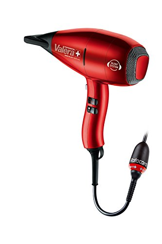 VALERA SWISS SILENT 9500 IONIC ROTOCORD - 2000W, Mod.: SX 9500Y RC, Professioneller Haartrockner mit Ionen-Generator, Swiss made - superleise und superstark, inkl. 2 extra schmaler Ondulierdüsen