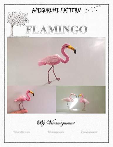 Animal Amigurumi: Mini Flamingo Pattern, miniature amigurumi, animals crochet (English Edition)