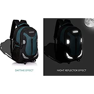 Suntop Neo 9 26 L Medium Backpack(Black & Airforce Blue) Best Online Shopping Store