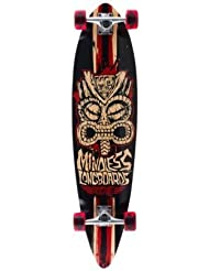 Mindless Rogue Tribal 2 Complete Longboard - Black/Red by Mindless Longboards