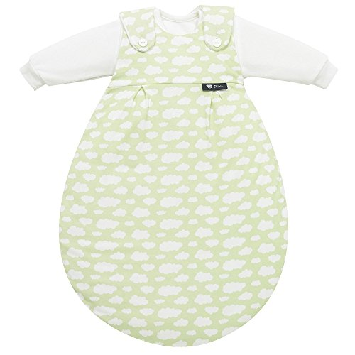 Alvi Baby Mäxchen 3tlg. Wolke grün 653-3, Größe:50/56