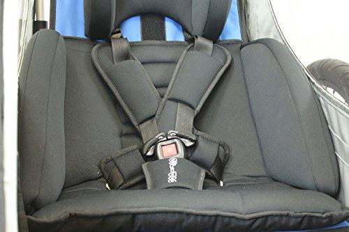 Sitzpolster Babysitz für Qeridoo Fahrradanhänger Sportrex 1 und Jumbo1 - 3