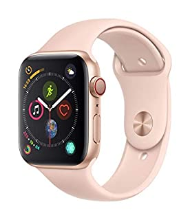 Apple Watch Series 4 (GPS + Cellular) Boîtier en Aluminium or de 44 mm avec Bracelet Sport Rose des Sables (B07JVKY7M4) | Amazon price tracker / tracking, Amazon price history charts, Amazon price watches, Amazon price drop alerts