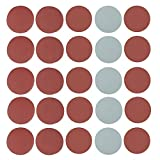 Set di 25 Dischi Velcro Abrasivi in Grana 1000/1500/ 2000/2500/ 3000, diametro 125 mm