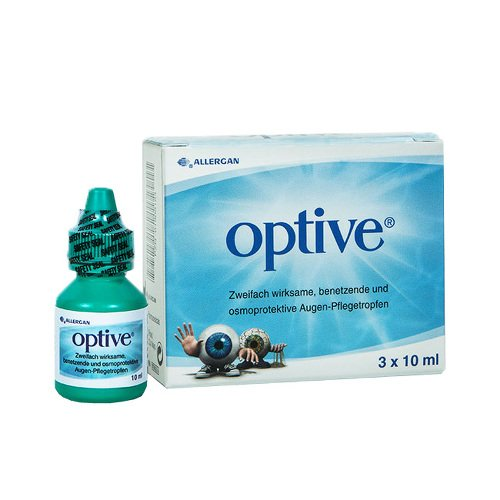 Optive Augentropfen 3X10 ml