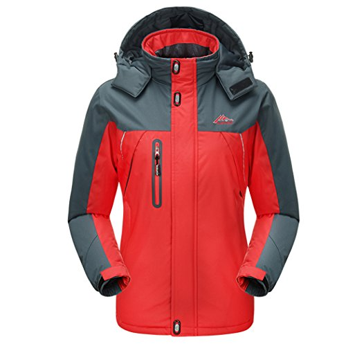 WALK-LEADER -  Cappotto  - Collo a U  - Maniche lunghe  - Uomo Red / Women X-Small