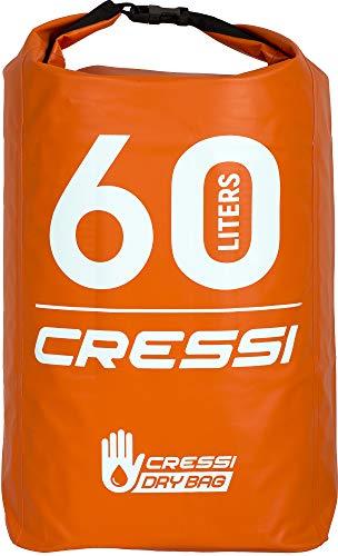 5dd76207f091cc Cressi Dry Bag, Sacca/Zaino Impermeabile per attività Sportive Unisex  Adulto, Arancio/