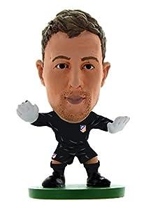 Soccerstarz SOC1058 - Figura Decorativa clásica con Texto en inglés Atletico Madrid Jan Oblak