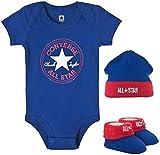 Converse Infants 3 Piece Set Blue 0-6 Months