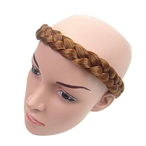 New Style Braid Plaited Chunky Hair Headband (Ginger/fire Red)