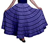 Photo de Phagun Frauen Kleidung aus Baumwolle Langer Rock 9 Panel Full Circle Rock Maxi Sommer par Phagun