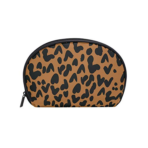 62e3a74c96 COOSUN Leopard Print Cosmetic Pouch Clutch Makeup Bag Travel Organizer Case  Toiletry Pouch for Women