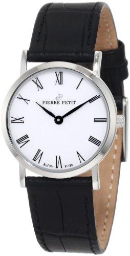 Pierre Petit - P-788C - Montre Femme - Quartz Analogique - Bracelet Cuir Noir