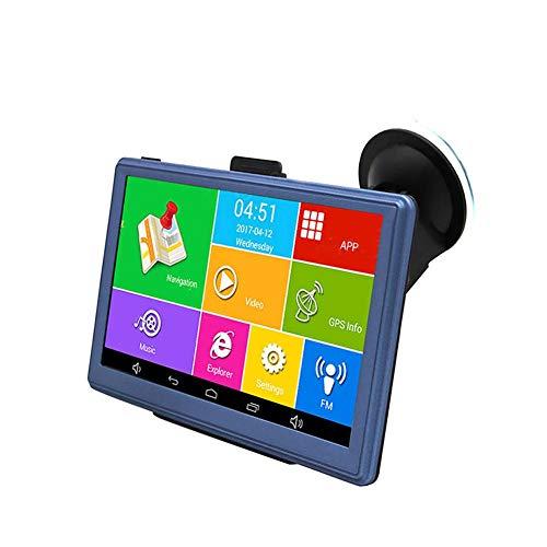 RLFS JUNSUN D300 Écran 7 Pouces Quad-Core 1 35GHz GPS DVR Bluetooth FM USB  Voiture DVD