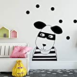 Kinderzimmer Aufkleber Cartoon Hund wandmalerei entfernbare wandaufkleber kreative Aufkleber tapete...