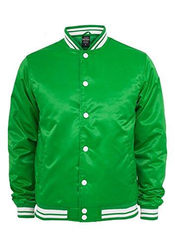 Urban Classics Mens Shiny College Black/White green