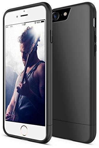 vau iPhone 7 / 8 Hülle Snap Case Slider - zweigeteilte Schutzülle für Apple iPhone7 / iPhone8 (matte black)